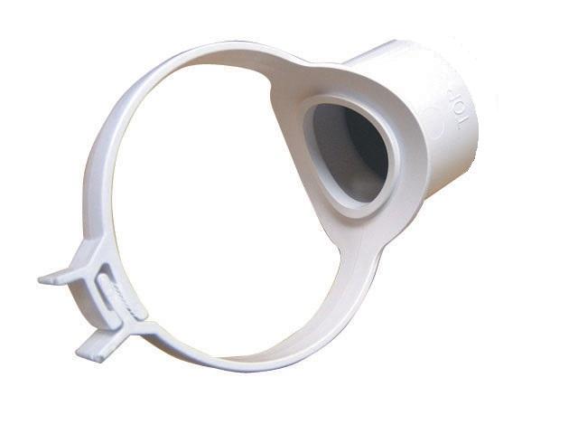 Plastic drain pipe fittings
