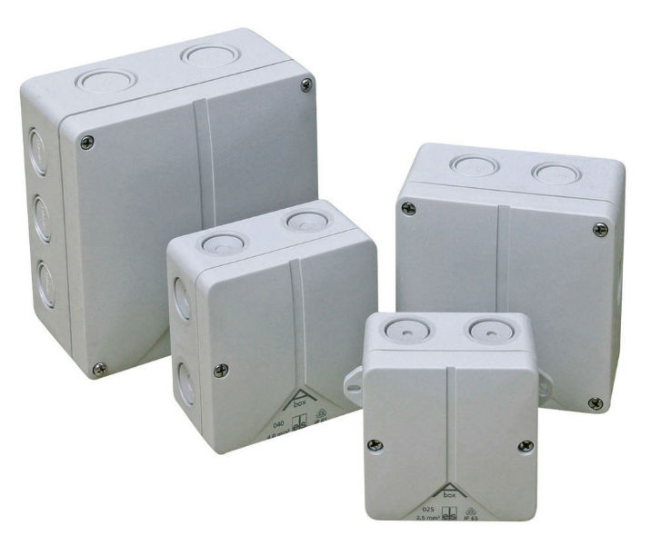 IP65 VDE Approved Moulded Enclosures 140 x 140 x 79mm