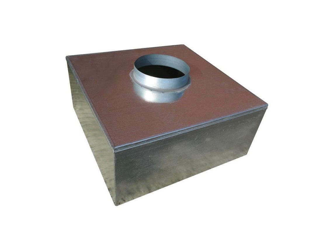 150mm Plenum Box with 100mm Top Entry Spigot