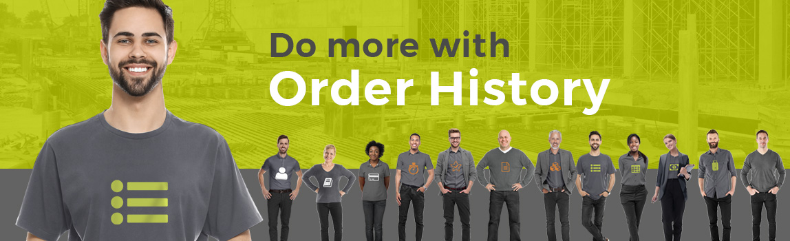 Do More with Order History
