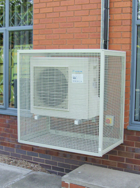 Easy Fit Extra Large Condensing Unit Guard Greenmill Ac