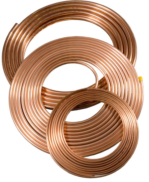 Copper Soft Coils 1/2