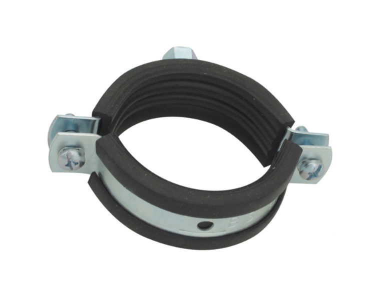 Rubber lined pipe clamp mm pk