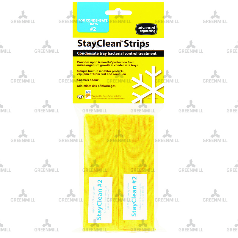 Stayclean Strips # 1 x 6 strips per pack