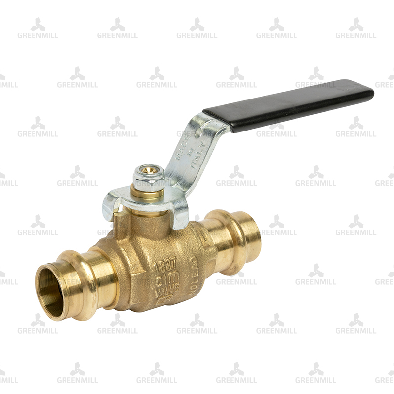 22mm Copper Press Fit Lever Ball Valve (pk 1)