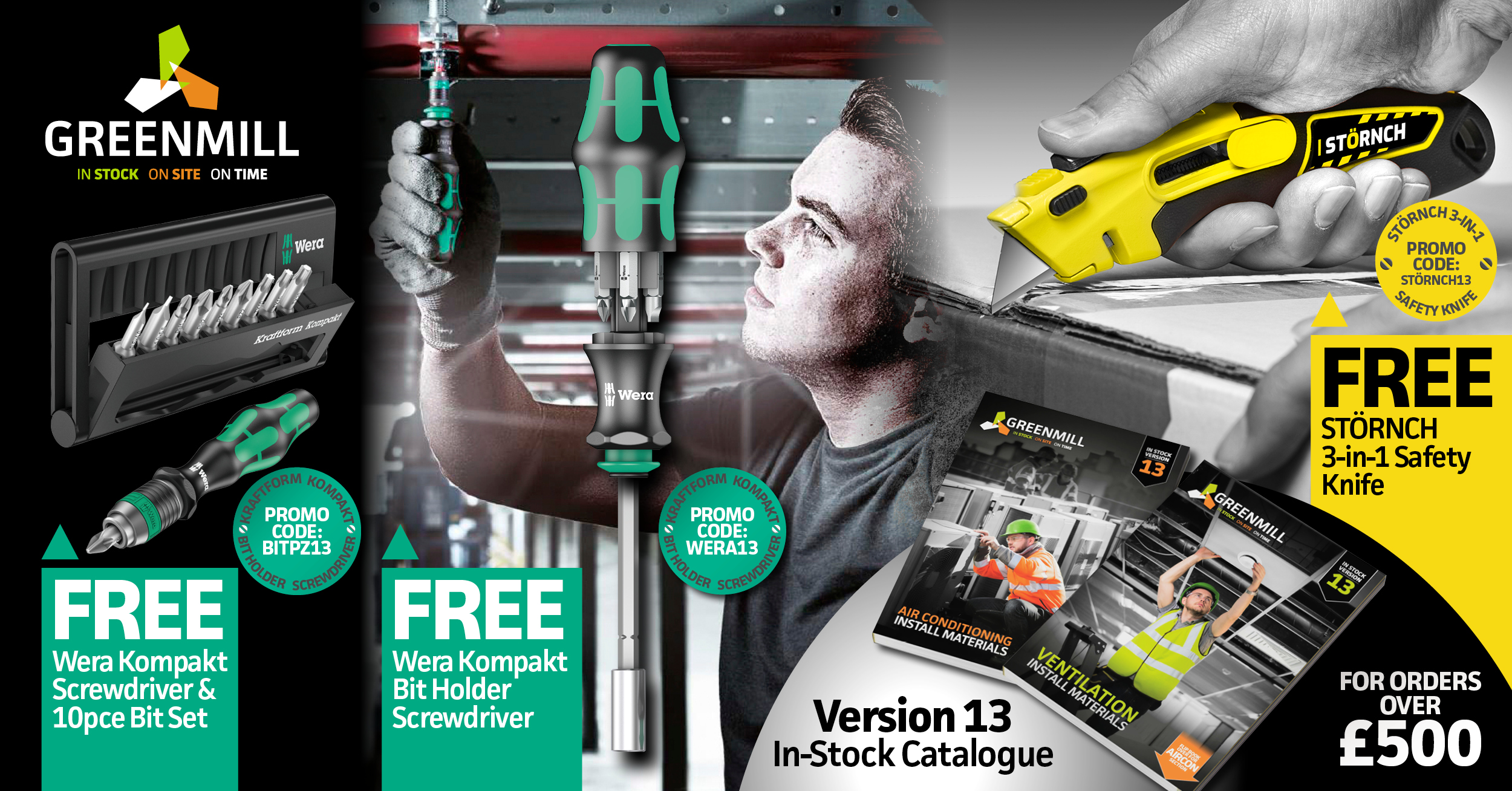NEW Version 13 catalogue & SPECIAL promotion