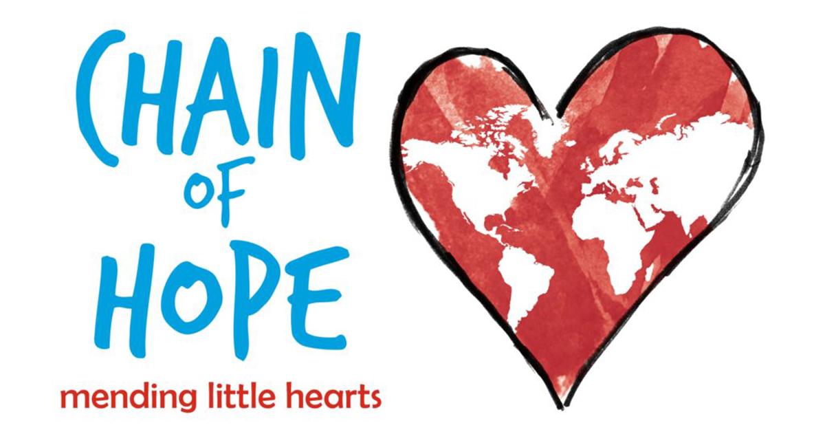Supporting the Chain of Hope Charity