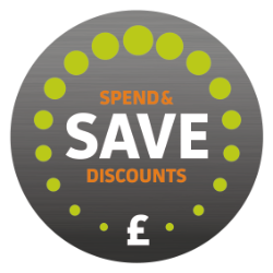 spend and save volume discount on all online orders