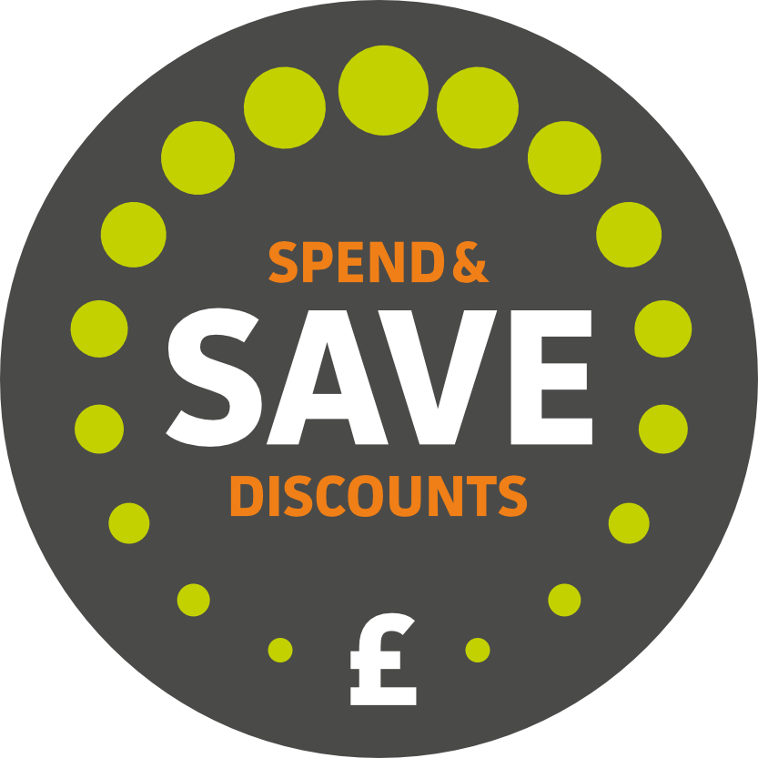 Spend & Save website discounts